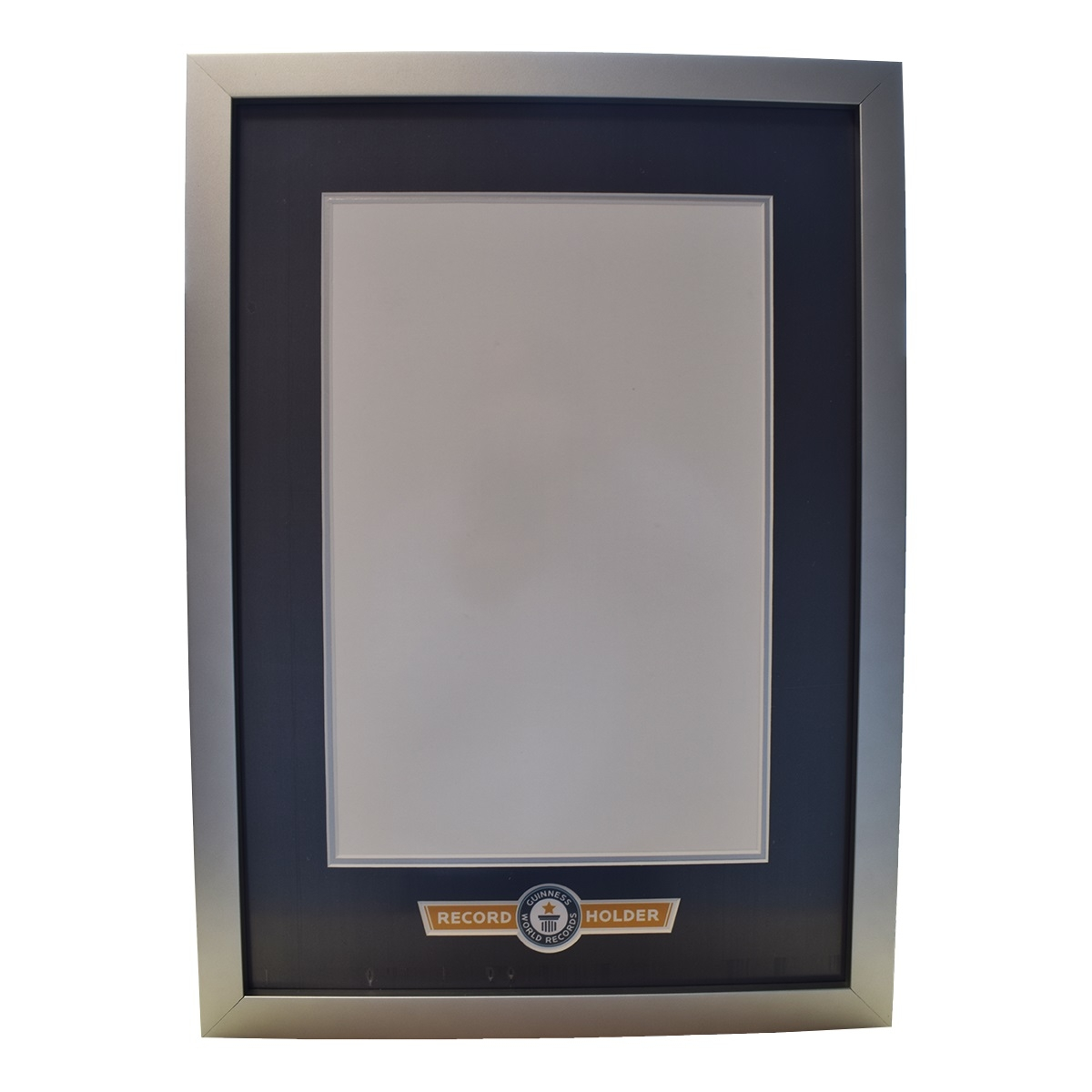The Guinness World Records Store - Record Holder Certificate Frame