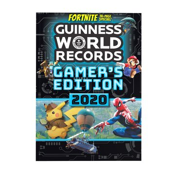 Top Selling Games 2020.Guinness World Records 2020 Gamer S Edition