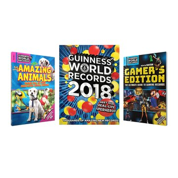 Ultimate Guinness World Records Book Set 2018